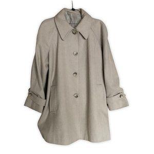 London Fog Wool Blend Pea Coat XL